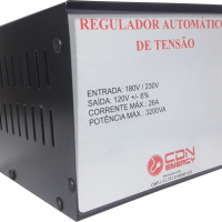 Regulador Aut. Tensão CDN Energy 3200VA 220/110V