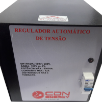 Regulador Aut. Tensão CDN Energy 5000VA 220/110