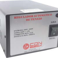 Regulador Aut. Tensão CDN Energy 1000VA 220/110V
