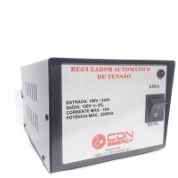 Regulador Aut. Tensão CDN Energy 2000VA 220/110V
